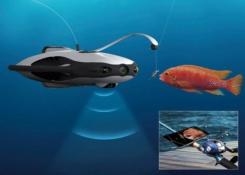 PowerRay: el gran dron submarino y pescador que va a revolucionar la pesca