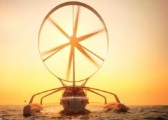 Archinaute, el barco de alas giratorias que pone rumbo a un nuevo modo de navegación